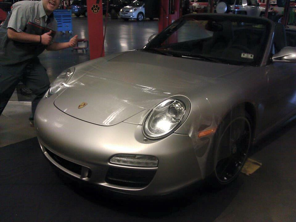 Incredible Porsche Protected with Paint Protection Film