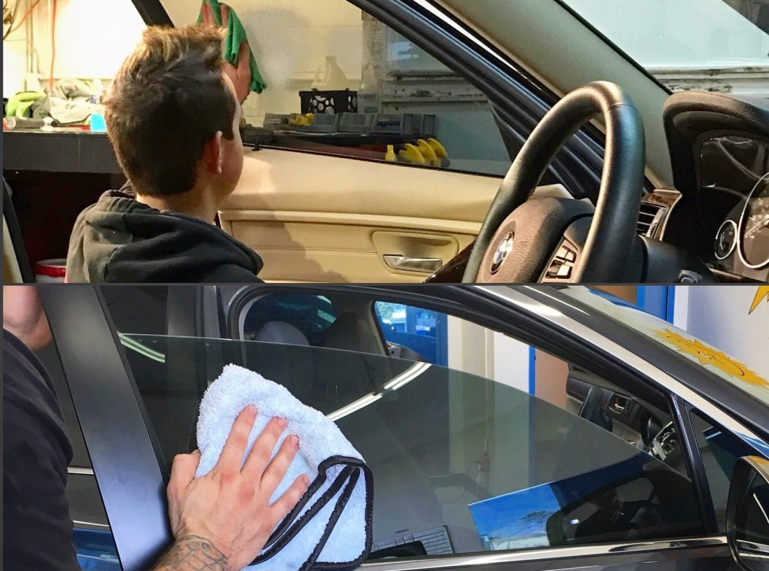 How to Properly Care For and Clean Automotive Tinted Windows - Vehicle Window Tinting in Denver, Colorado